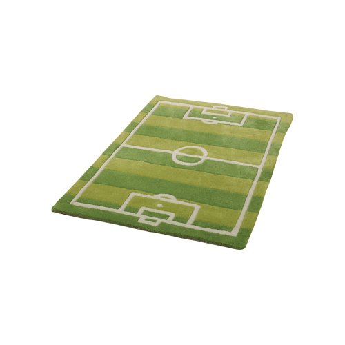 2 Sizes Available Kiddy Play Football Pitch Green
