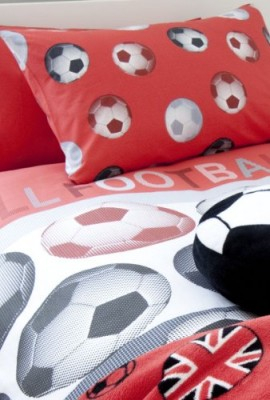 Catherine-Lansfield-Kids-Football-Single-Quiltset-Red-0