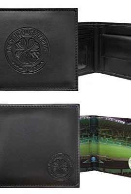 Celtic-FC-Official-Football-Gift-Embossed-Crest-Wallet-Black-RRP-2499-0