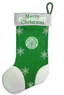 Celtic-FC-Official-Xmas-Gift-Christmas-Flashing-Stocking-Green-RRP-699-0