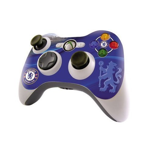 Chelsea F.C. Xbox 360 Controller Skin Official Merchandise - The Set ... c5530369b