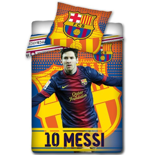 info for feef6 c1a25 FC Barcelona Messi Winter Design Duvet Cover and Pillowcase ...