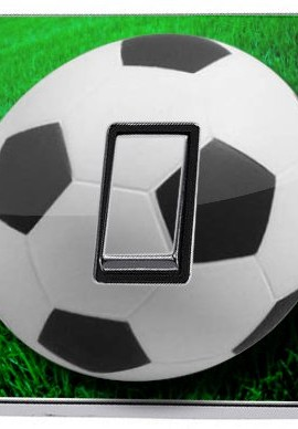 Football-Light-Switch-Sticker-green-soccer-game-ball-vinyl-decal-cover-skin-decal-0