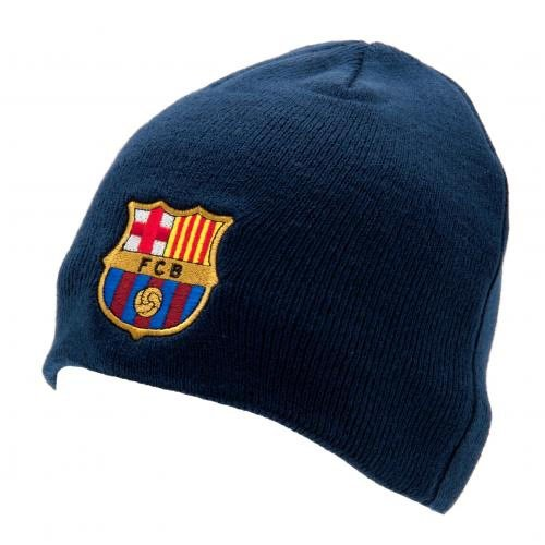 8ef6d6e8cbb Gift Ideas - Official FC Barcelona Knitted Hat - A Great Present For ...