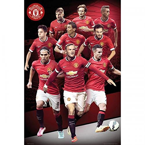 Official Manchester United FC Players Poster