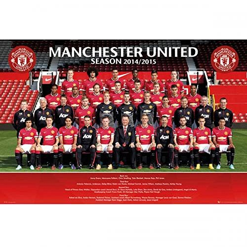 Gift Ideas Official Manchester United Fc Squad Poster