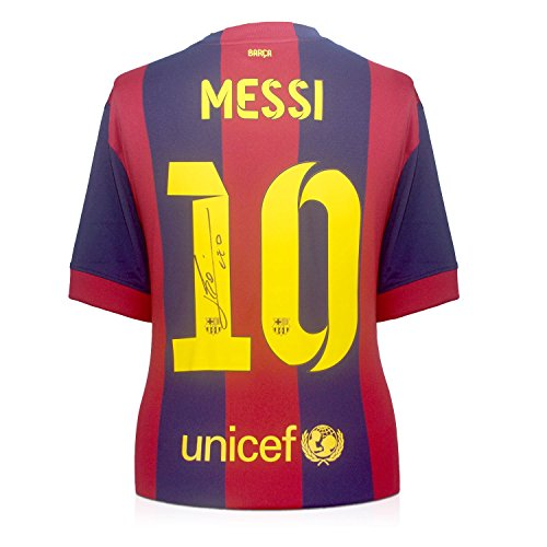 huge selection of a2290 0a2d7 Lionel Messi Signed 2014-15 Barcelona Football Shirt - The Set Shop  Football Merchandise