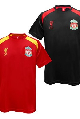 Liverpool-FC-Official-Football-Gift-Mens-Poly-Training-Kit-T-Shirt-RRP-1999-0