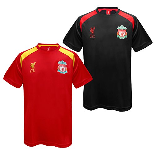 Liverpool Fc Official Football Gift Mens Poly Training Kit