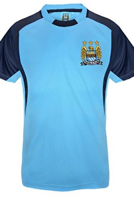 Manchester-City-FC-Official-Gift-Boys-Poly-Training-Kit-T-Shirt-RRP-1499-0