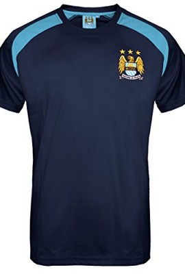 Manchester-City-FC-Official-Gift-Mens-Poly-Training-Kit-T-Shirt-RRP-1999-0