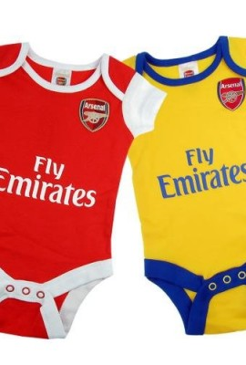 New-Official-Football-Team-100-Cotton-2pk-Baby-Grow-Bodysuits-Various-teams-and-sizes-to-choose-from-0