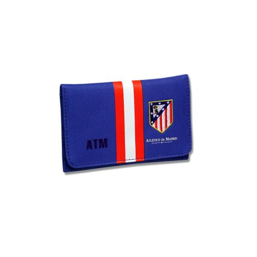 New Official Football Team Stripe Zip Velcro Wallet ...