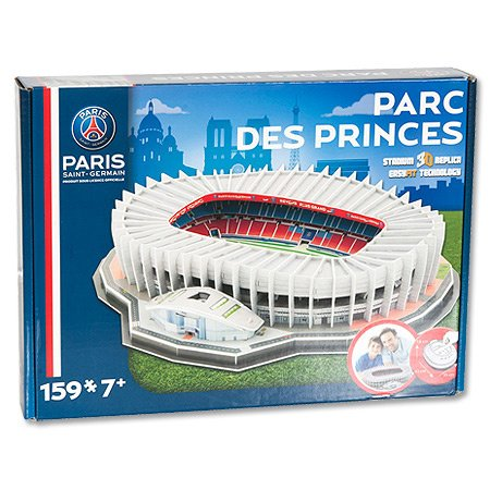 psg 39 parc des princes 39 stadium 3d puzzle the set shop. Black Bedroom Furniture Sets. Home Design Ideas