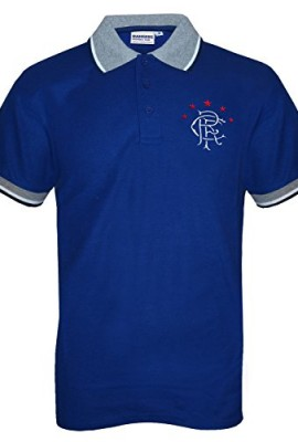 Rangers-FC-Official-Football-Gift-Mens-Crest-Polo-Shirt-Royal-XXL-RRP-1499-0