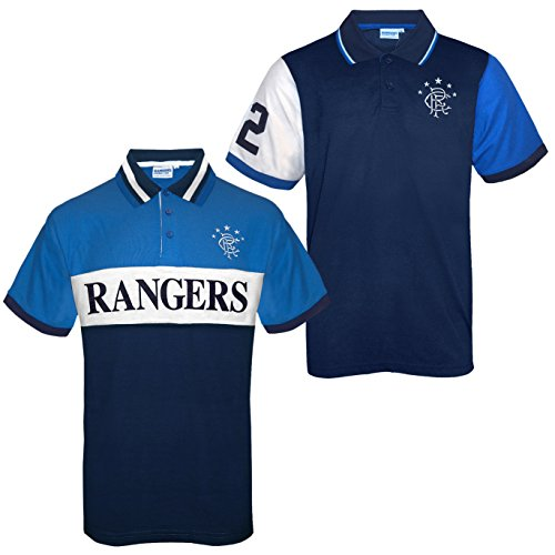Rangers FC Official Football Gift Boys Poly Training Kit T-Shirt b1a180817
