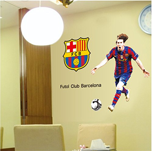 wallpicture art-messi posters football wall stickers sport high